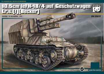 10,5cm LeFH-18/4 auf Geschutzwagen Lr.S.(f)(Becker) · PAN 35037 ·  PandaHobby · 1:35