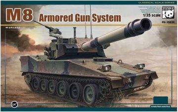 M8 Armored Gun System · PAN 35039 ·  PandaHobby · 1:35
