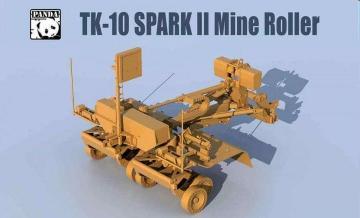 SPARK II Mine Roller · PAN TK10 ·  PandaHobby · 1:35