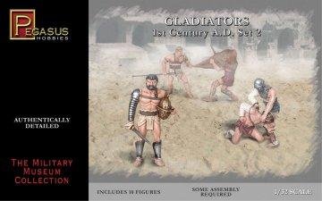 Gladiators Set 2 · PGH 3202 ·  Pegasus Hobbies · 1:32