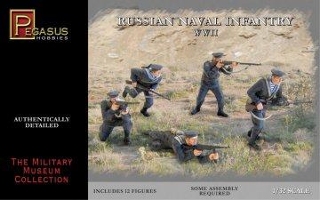 Russian Naval Infantry WWII · PGH 3203 ·  Pegasus Hobbies · 1:32