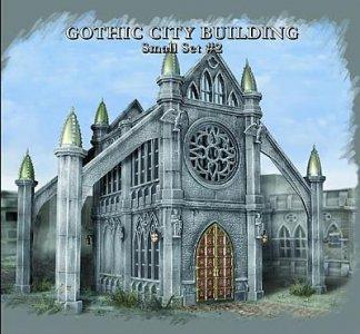 Gotisches Gebäude · PGH 4925 ·  Pegasus Hobbies · 28 mm