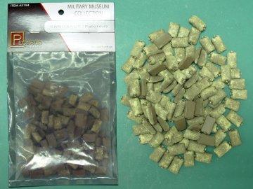 Sandsäcke, bemalt · PGH 5194 ·  Pegasus Hobbies · 28 mm