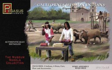 Mission Indians Set 2 · PGH 7005 ·  Pegasus Hobbies · 1:48