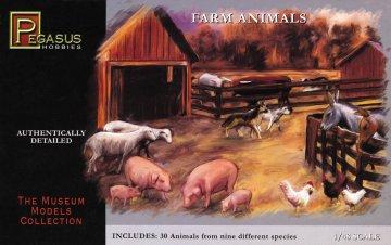 30 Farm-Tiere · PGH 7006 ·  Pegasus Hobbies · 1:48