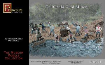 Gold Miners · PGH 7007 ·  Pegasus Hobbies · 1:48
