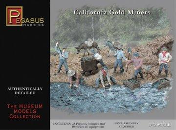 California Gold Miners · PGH 7050 ·  Pegasus Hobbies · 1:72