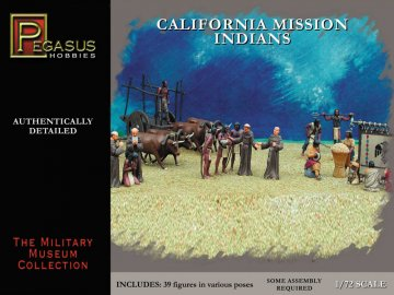 California Mission Indians · PGH 7051 ·  Pegasus Hobbies · 1:72