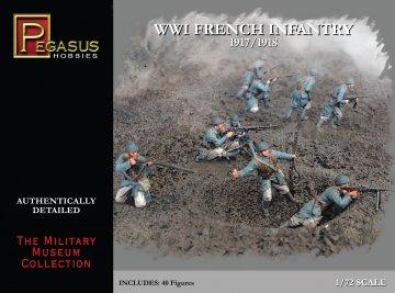 WW I French Infantry · PGH 7199 ·  Pegasus Hobbies · 1:72