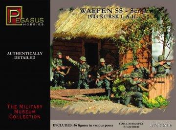 WWII: Deutsche Soldaten 1943 · PGH 7201 ·  Pegasus Hobbies · 1:72