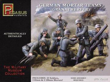 Deutsche Granatwerfer · PGH 7204 ·  Pegasus Hobbies · 1:72