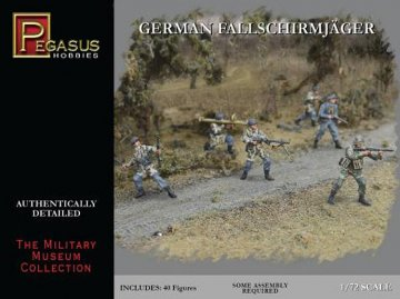 WWII: Deutsche Fallschirmjäger · PGH 7224 ·  Pegasus Hobbies · 1:72