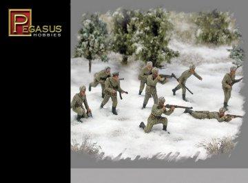 WWII: Russische Infanterie in Winteruniform · PGH 7269 ·  Pegasus Hobbies · 1:72