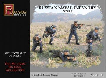 Russian Naval Infantry WWII · PGH 7270 ·  Pegasus Hobbies · 1:72