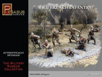 WWII: Französische Infanterie 1940 · PGH 7306 ·  Pegasus Hobbies · 1:72