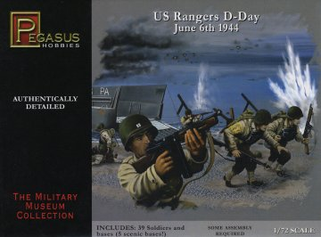 WWII: US-Truppen - D-Day · PGH 7351 ·  Pegasus Hobbies · 1:72
