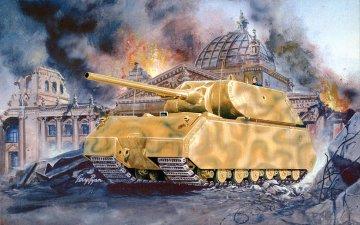 Maus German WWII Heavy Tank · PGH 7501 ·  Pegasus Hobbies · 1:72