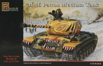 M46 Patton Medium Tank · PGH 7506 ·  Pegasus Hobbies · 1:72
