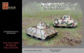 P-245-010 Tanks ´´Jaguarundi´´ · PGH 7606 ·  Pegasus Hobbies · 1:72