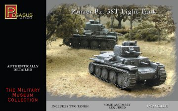 Panzer Pz38(t) Light Tank · PGH 7620 ·  Pegasus Hobbies · 1:72
