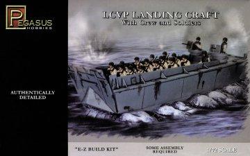 LCVP Landing Craft · PGH 7650 ·  Pegasus Hobbies · 1:72