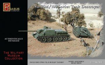 Panzer Su-85/100 · PGH 7663 ·  Pegasus Hobbies · 1:72