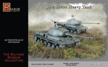 JS-2 Soviet Heavy Tank · PGH 7669 ·  Pegasus Hobbies · 1:72