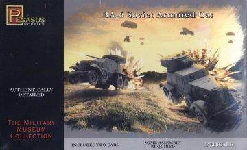 BA-6 Armoured Car · PGH 7672 ·  Pegasus Hobbies · 1:72
