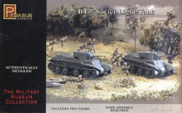 Panzer BT-7 · PGH 7673 ·  Pegasus Hobbies · 1:72