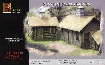 Russisches Farmhaus - 2 Stück · PGH 7702 ·  Pegasus Hobbies · 1:72
