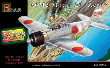 Mitsubishi Zero A6M2 Model 21 · PGH 8409 ·  Pegasus Hobbies · 1:48