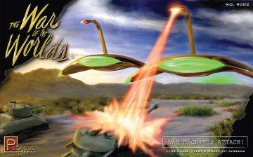 War of the Worlds Diorama kit · PGH 9002 ·  Pegasus Hobbies · 1:144