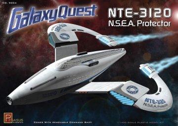 Galaxy Quest N.S.E.A. Protector · PGH 9004 ·  Pegasus Hobbies · 1:1400