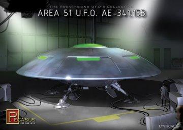 Area 51 Ufo · PGH 9100 ·  Pegasus Hobbies · 1:72
