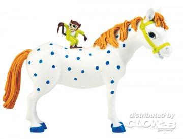 Pferd & Affe · PIP 3691 ·  Pippi Langstrumpf