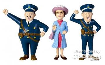 Polizeibeamter & Frau · PIP 3696 ·  Pippi Langstrumpf