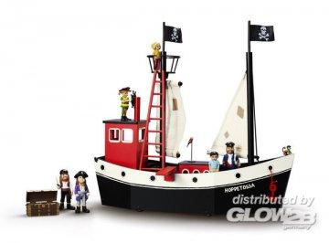 Piratenschiff Hoppetosse ca. 53 x 20 x 50 cm · PIP 3713 ·  Pippi Langstrumpf