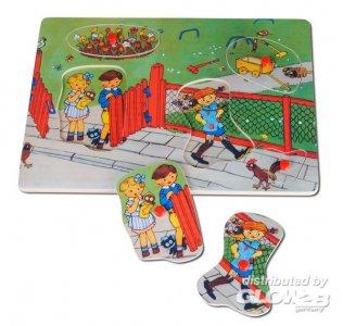 Pippi Holzpuzzle mit Griffen, 5 Teile · PIP 3740 ·  Pippi Langstrumpf