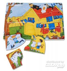 Pippi Holzpuzzle, 12 Teile · PIP 3741 ·  Pippi Langstrumpf