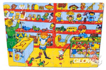 Pippi Holzpuzzle, 50 Teile · PIP 3751 ·  Pippi Langstrumpf