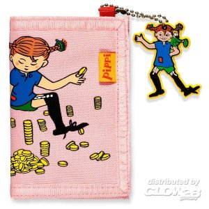 Pippi Geldbörse, pink · PIP 3766 ·  Pippi Langstrumpf