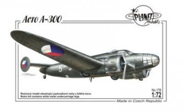 Aero A-300 · PLM 178 ·  Planet Models · 1:72