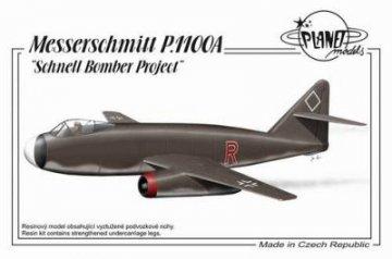 Messerschmitt Me P.1100A · PLM 190 ·  Planet Models · 1:72