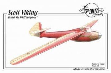 Scott Viking British Pre WWII Sailplane · PLM 191 ·  Planet Models · 1:48