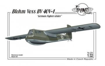 Blohm Voss BV 40V-1 German Fighter Glider · PLM 204 ·  Planet Models · 1:32