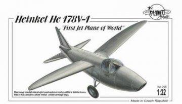 Heinkel He 178 First Jet Plane of World · PLM 205 ·  Planet Models · 1:32