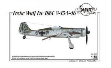 Focke-Wulf Fw 190 V-15/V-16 · PLM 215 ·  Planet Models · 1:48