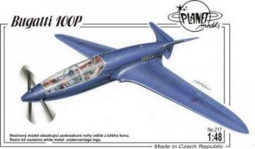 Bugatti 100 Racer · PLM 217 ·  Planet Models · 1:48
