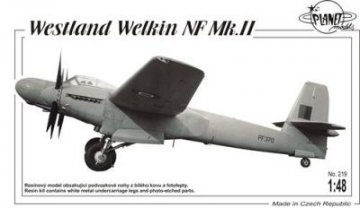 Westland Welkin NF Mk. II · PLM 219 ·  Planet Models · 1:48