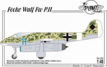 Focke Wulf P.II · PLM 224 ·  Planet Models · 1:48